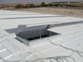 15 adet Polikarbon Çatı Işıklığı ve Havalandırma Kapağı Çifteler-Eskişehir (Seramik Fabrikası)
